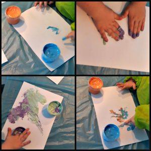 SES MyFirst Fluffy Vingerverf fingerpaint mousse handen schoonmaken kunstwerk dicker vingers glijden druppen tafel thuis geklieder aanrader recensie review
