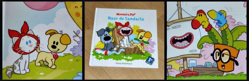 Woezel & Pip naar de tandarts dromenjager Guusje Nederhorst prentenboek Leopold tanden wisselen angst spannend bezoek voorbereiden tanden poetsen tandenfee tandjes recensie review
