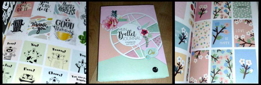 Mijn Bullet Journal Scrapbook Cut-Outs Creatief BBNC bujo agenda planner notitieboekje stickers uitknippen vormen kaders kaarten lijm plakken cadeau kladblok to-do-lijstjes recensie review MUS Creatief