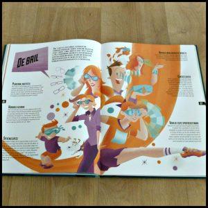 Toekomst Atlas Enrico Passoni toekomstatlas zelf lezen membraam veters strikken trein onderwerpen mogelijkheden tekeningen ideeën succes Oud-Hollandse robot poppen levend 2050 toekomst frietjes kwallen schorpioenen wormen snack boeken praten verwachten Rubinstein recensie review