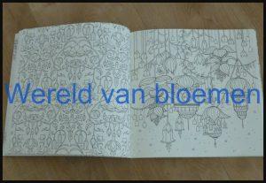 Wereld van bloemen Johanna Basford kleurboek kleuren voor volwassenen kleurplaten MUS Creatief BBNC stiften dubbelzijdig bedrukt schoonheidsfoutjes liefhebber recensie review