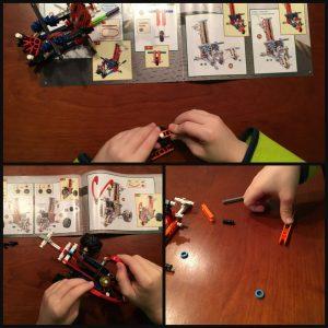 K'Nex X-Battlers X saw Attacker bouwstenen speelplezier onderdelen in elkaar zetten bouwinstructies aanvallen aanvaller serie wedstrijdelement bouwwerk model 7+ origineel ontwerp recensie review T-Trasher