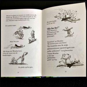 Wombat en Vos Avonturen in de stad Terry Denton Zelf Lezen Uitgeverij Condor De waanzinnige boomhut boekenreeks tekeningen graphic novel fantasie dieren personages cool humeurig recensie review