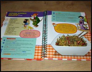 Dat wordt smullen! Geronimo Stilton kinderkookboek kookboek De wakkere Muis recepten informatie ringband bereidingstijd gehaktballetjes in tomatensaus gevulde eieren met tonijn mozzarella crêpes ingrediënten tekeningen kinderen voedingsmiddelen koken keuken recensie review