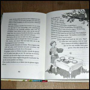 Feline en de bijzondere ontmoeting Antje Szillat Zelf Lezen De Vier Windstreken verhuizen Oost-Friesland dierenartspraktijk geheim magisch poes praten helpen dierenarts meisjes jongens grappig recensie review