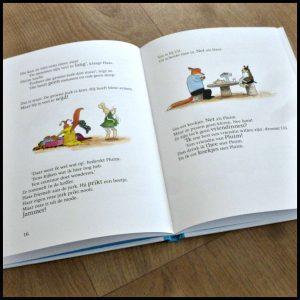 Vos en Haas: Het maatje van Haas Sylvia Vanden Heede Leren Lezen AVI M3 E3 leesboekje bezoek koffers kleding jurkje eenzaam verdrietig vriendschap gelukkig jezelf zijn betekenissen recensie review