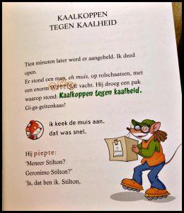 Bungelend aan een staartje Geronimo Stilton samenleesboek AVI Start AVI M3 De Wakkere Muis samen lezen gewoon leesboek verhaal Himalaya Yeti dagboek formules gevaar avonturen onderweg succes stimulerend tekeningen kleur speelsheid lettertypes leesplezier taalbegrip laboratorium recensie review