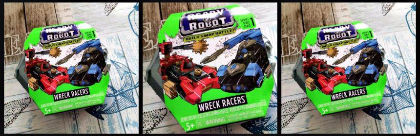 Ready2Robot Wreck Racers speelgoed MGA Entertainment 6+ unboxen slijm slime bouwen in elkaar zetten opbergpod battle-station vestingsmuur wapen slijmwapens raketten plakkerig vechtslijm herbruikbaar onderdelen verpakking bouwen vechten botsen cadeau kado verzamelen jongens meisjes recensie review