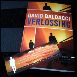 Verlossing David Baldacci Thriller AW Bruna Burlington moord Amos Decker Ohio bewijs levenslang naam zuiveren onschuldig schim tralies loopbaan dossier ten onrechte veroordeeld stervende gebrutenissen (dwaal)spoor spanning recensie review