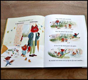 Papatijd! Mrta Altés prentenboek Leopold pappa vader spelen verhaaltje voorlezen minuten minuutjes leuk duidelijk kinderen tijd kijk volwassenen haastig heleboel bewustwording tijd school thema recensie review