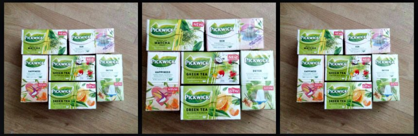 Pickwick nieuwe smaken groene thee kruidenthee Pickwick Herbal Zen Pickwick Herbal Detox Pickwick Herbal Happiness Pickwick Green Tea Variation Box Pickwick Green Tea Matcha Mint Pickwick Green Tea Orange & Manderin theesoorten thee kiezen assortiment cadeautje fruitig balans detoxen favoriet accent sinaasappel citroengras positief recensie review