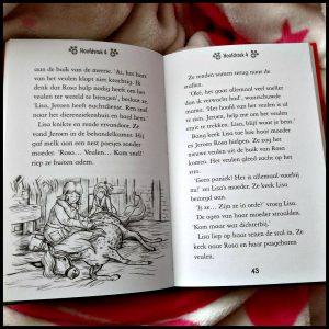 SOS Dieren in nood! Paard zoekt een thuis Tina Noland Zelf Lezen Deltas acht jaar kinderboekenserie kinderboekenreeks spannend dierenliefde kinderen jongens meisjes petitie overlast dierengeluk dierenasiel knuffelen dierenvriendjes aanrader verzorgen spelen gebeurtenissen geboorte veulen buurt baasje potloodtekeningen doelgroep letterformaat recensie review