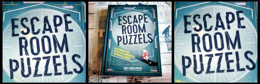 Escape Room Puzzels James Hamer Morton hobby BBNC Uitgevers aanrader tekst plaatjes foto's opdrachten afwisseling hints origineel code foutjes internet situaties oplossen gevangen volwassenen escaperoom thuis review recensie